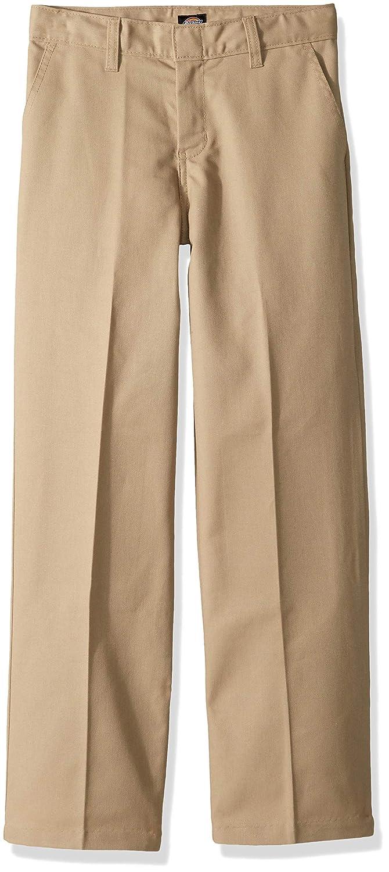 Dickies Boys Flexwaist Flat Front Straight Leg Pant