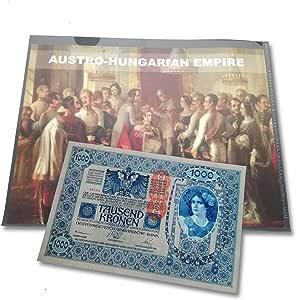 IMPACTO COLECCIONABLES Billetes Antiguos - Billetes del Mundo - Imperio Austro-Húngaro, el Billete de los 10 Idiomas: Amazon.es: Juguetes y juegos