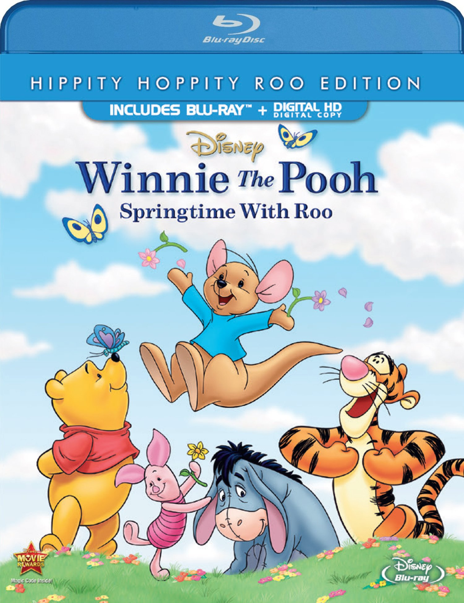 Blu-ray : Winnie the Pooh Springtime with Roo (Special Edition, Dubbed, Digital Theater System, Dolby, Digital Copy)