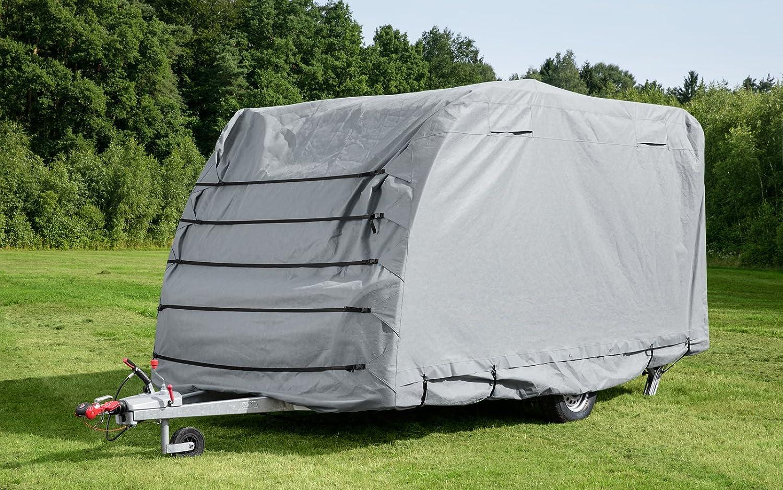 Berger Wohnwagen Schutzhülle Uv Stabil Plane Abdeckung Wohnwagen Camping Abdeckplane Schutzplane Sport Freizeit