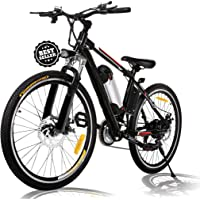 Deals on Angotrade 26 inch Electric Mountain E-Bike