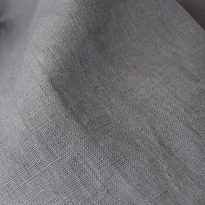 Amazon.com: 100% tela de lino. – Ratón Gris   Calidad ...