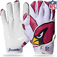 $24 » Franklin Sports Youth NFL Football Receiver Gloves - Receiver Gloves For Kids - NFL Team Logos and…