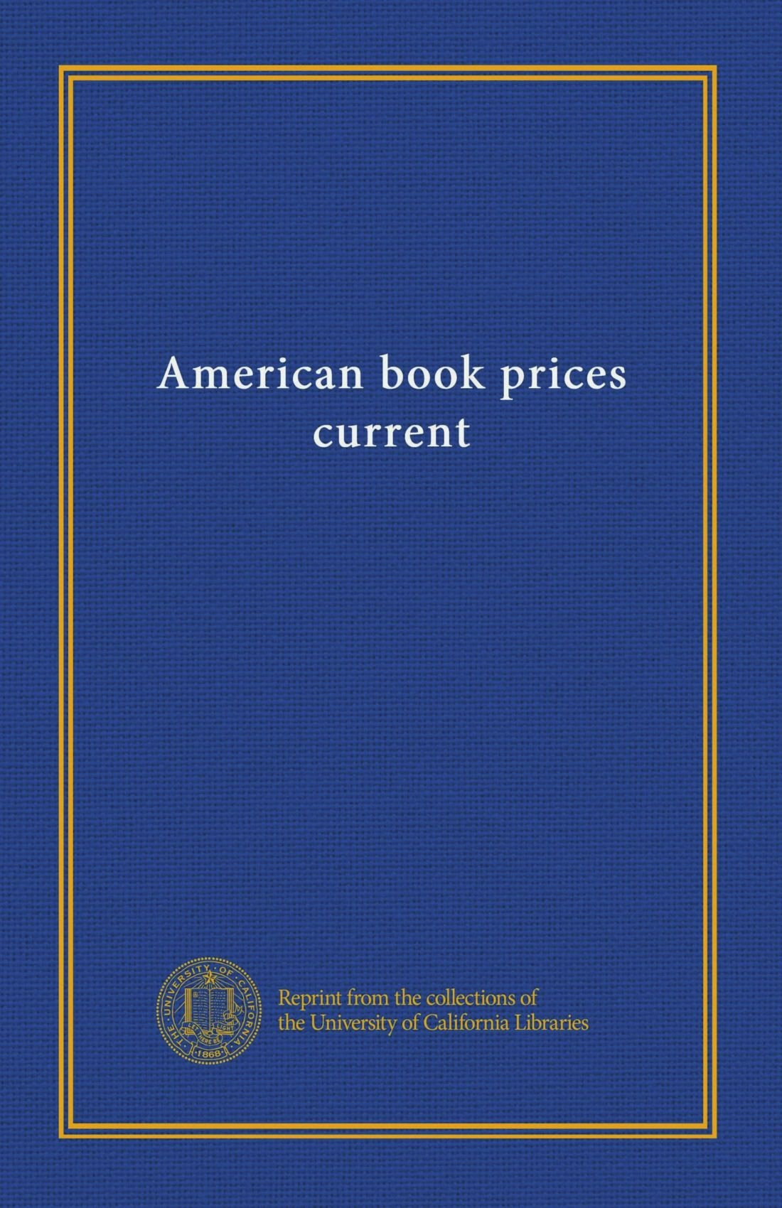 American book prices current (v.14 (1907/08)) pdf epub