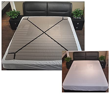 Jelinda Bed Sheet Fasteners Adjustable Bed Sheet Grippers Suspenders Holder Bed  Fitted Sheet Straps Suspenders For
