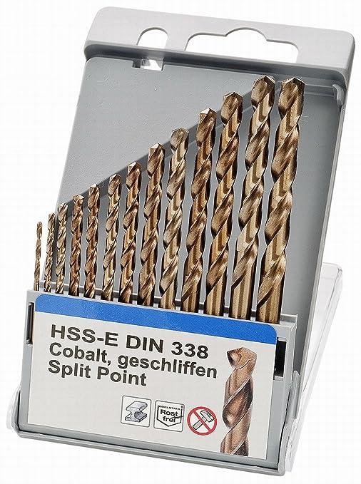 HSS-G Spiralbohrer profilgeschliffen Bohrer Metallbohrer  8,1-10,5 Eisenbohrer