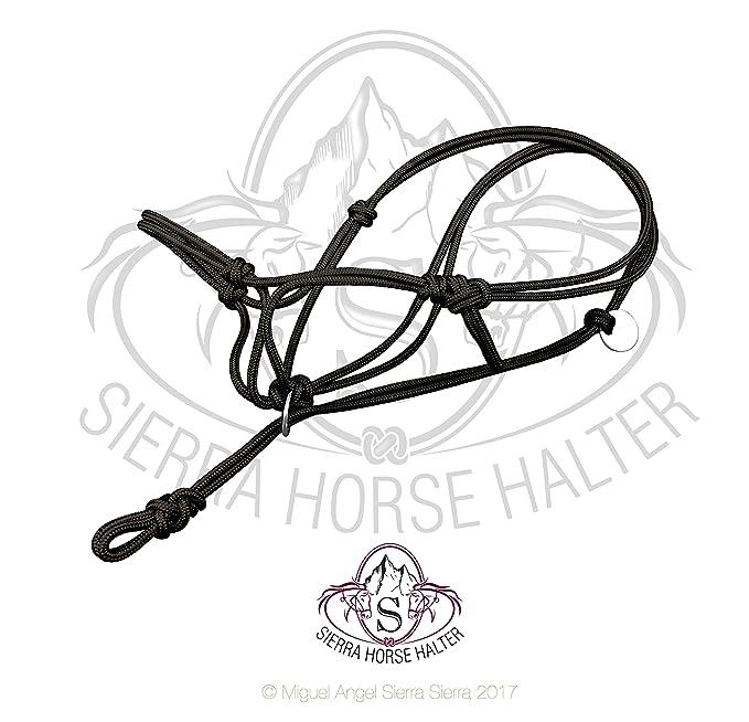 Amazon Com Sierra Horse Halter Poly Rope Tied Horse Training Halter