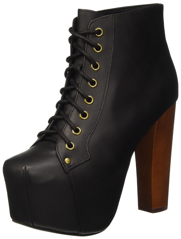 Jeffrey Campbell Lita Leather - Zapatos de Tacón de Punta Cerrada Mujer 41 EU|Negro (Black 001)