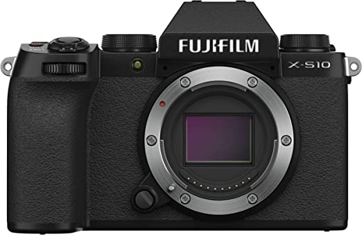 Amazon.com : Fujifilm X-S10 Mirrorless Camera Body- Black, X-S10 Body- Black : Camera & Photo