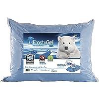 Fibrasca Travesseiro Frostygel Fibra Enchimento, Azul, 50x70cm