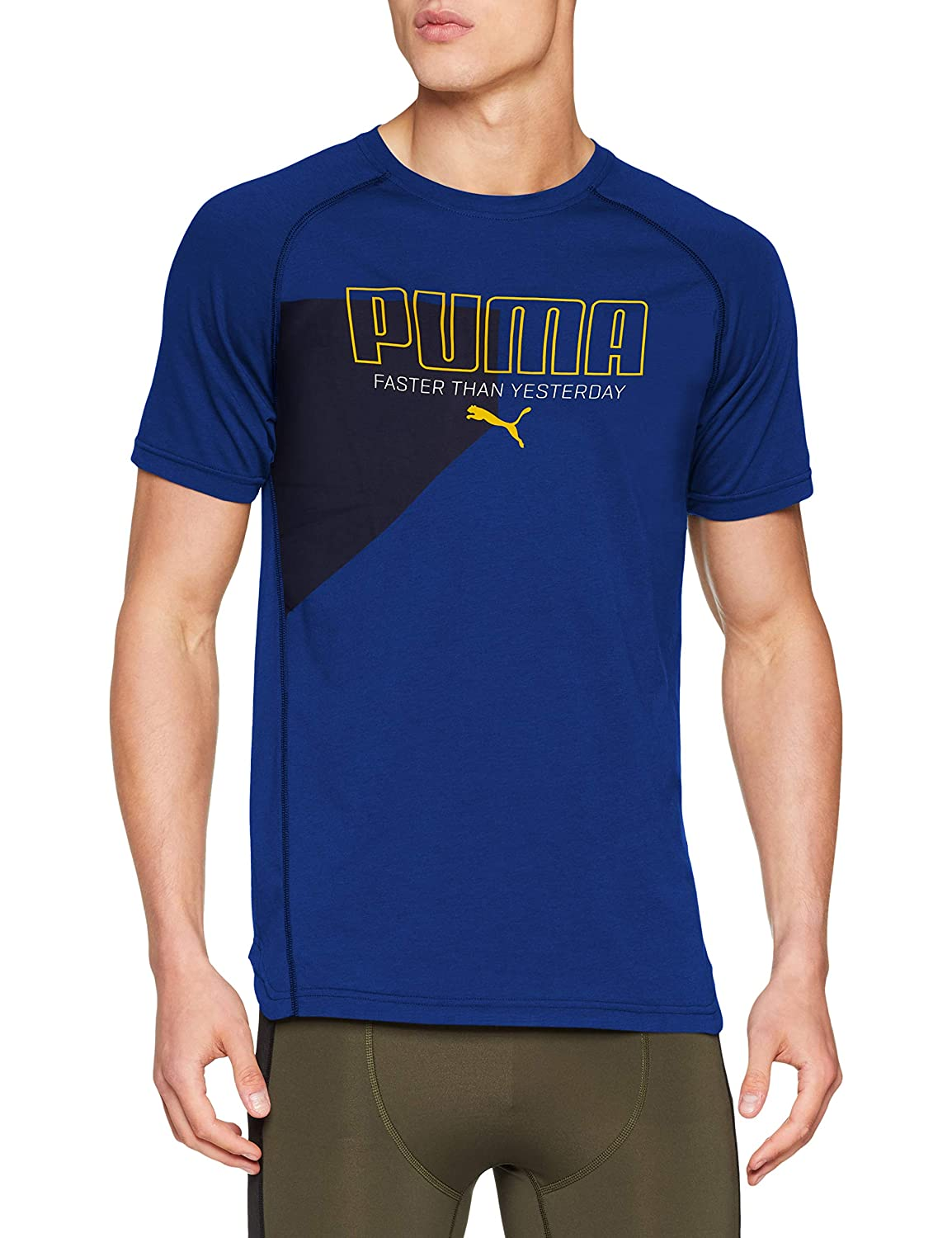 Puma Graphic Triblend Tee, T-Shirt Uomo 516951
