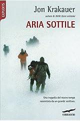 Aria sottile (Italian Edition) Kindle Edition