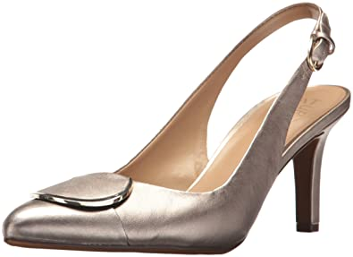 6a62b600843 Naturalizer Women s Nora Pump Champagne 4.5 ...