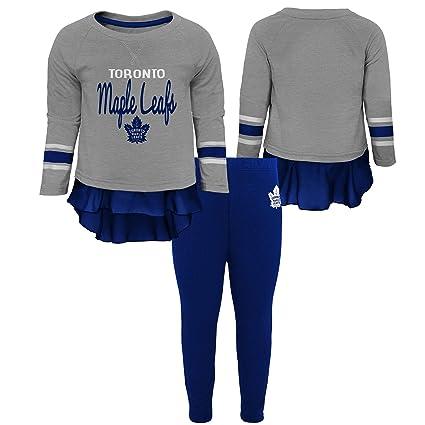 best service 73e1e 3569b Toronto Maple Leafs Toddler Girls Show Off Long Sleeve Top ...