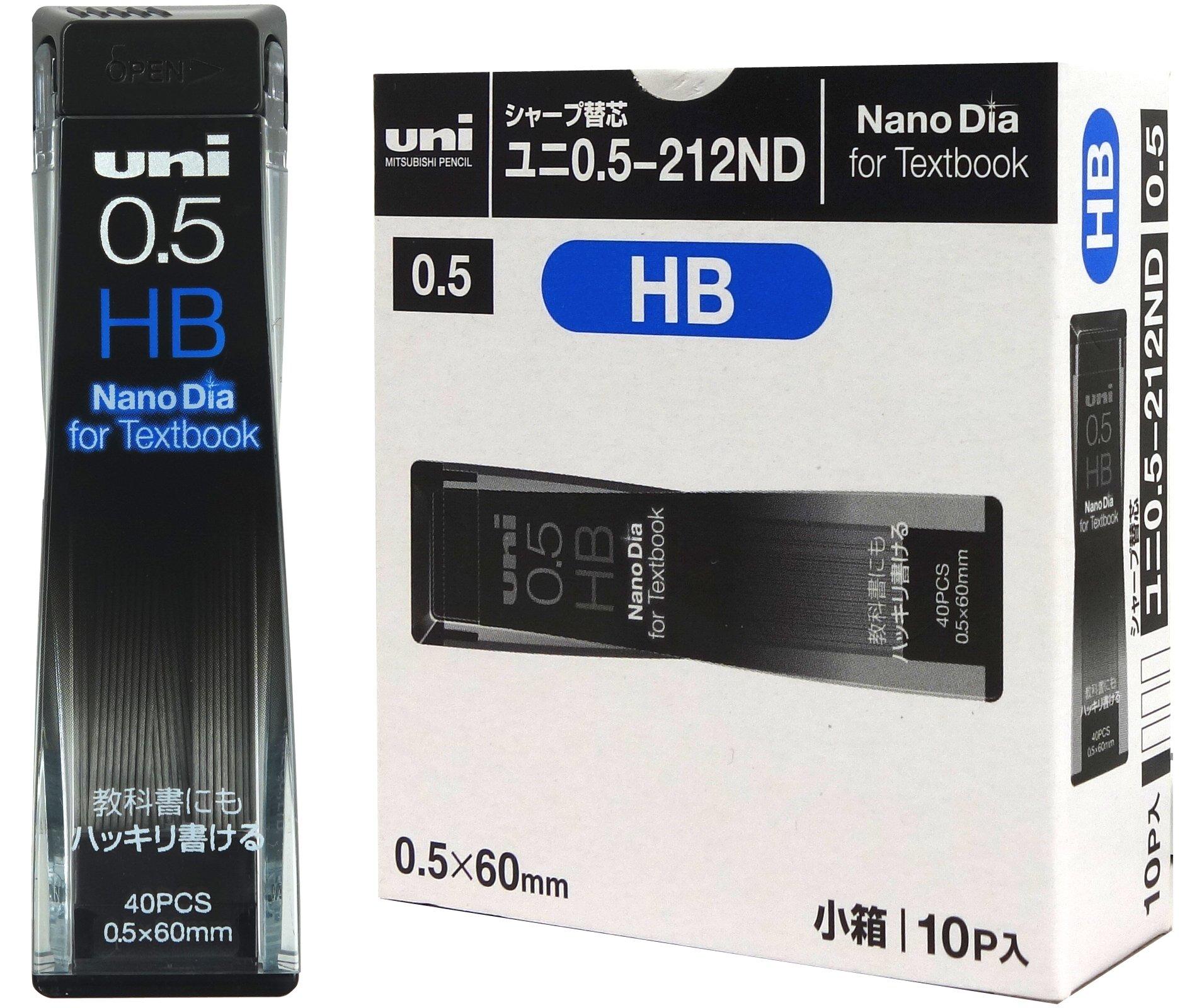 Uni Sharp Replacement wick Nanodaiya textbook corresponding core 0.5mm HB 10 pieces