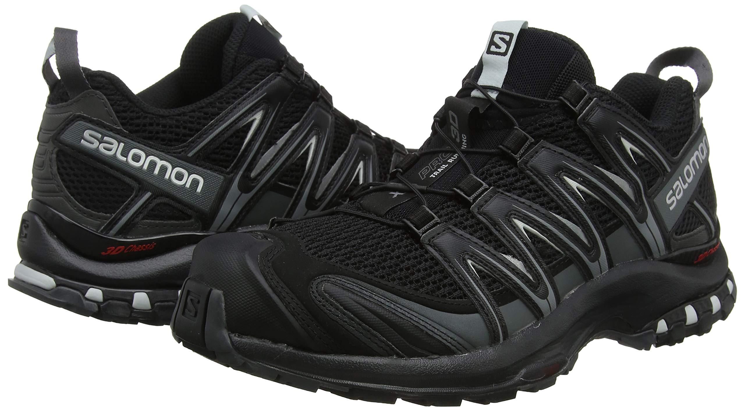 Salomon Men's XA PRO 3D Trail Running Shoe, Black Choose SZcolor