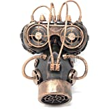 Storm Buy] Steampunk Respirator Metallic Spiked Mask Halloween Costume Cosplay with Goggles