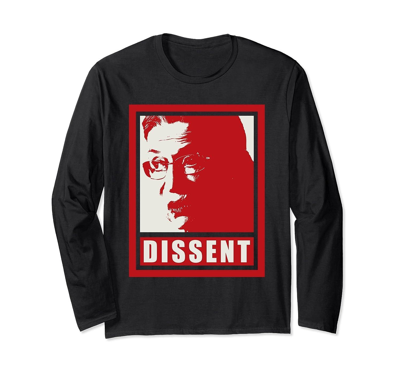 Ruth Bader Ginsburg Dissent Long Sleeve Shirt-Colonhue
