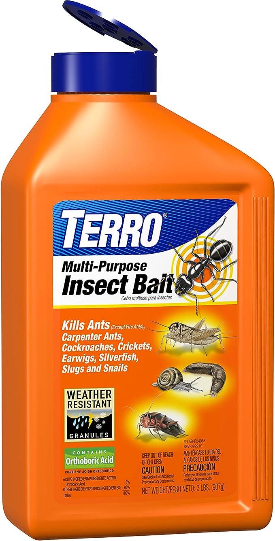 Amazon Com Terro Multi Purpose Insect Bait T2401 2lbs Insect Traps Garden Outdoor