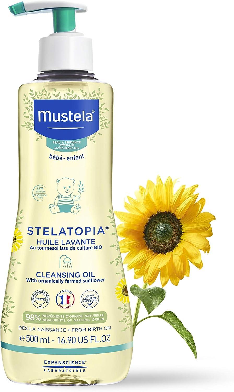 Mustela STELATOPIA huile lavante 500 ml 500 g: Amazon.es: Belleza