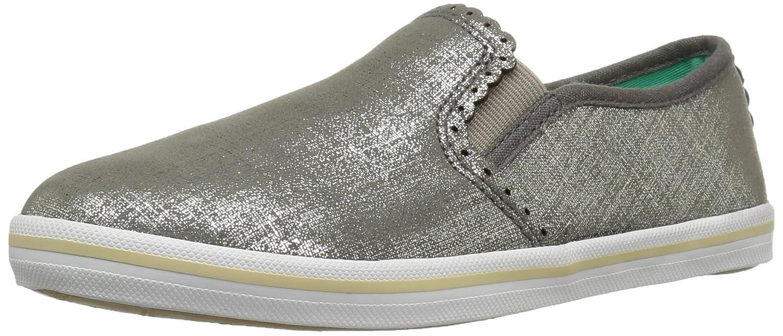 Jack Rogers Women's Bennett Etched Fashion Sneaker B01IIPO72A 8 B(M) US|Pewter