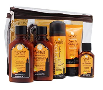 Agadir Argan Oil Travel Kit
