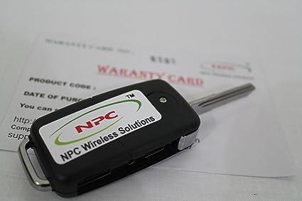 NPC Car Key Spy Camera Spy Cameras at amazon