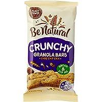Be Natural Crunchy Granola Bars Choc Chip Chia, 160 Grams (8 Bars)