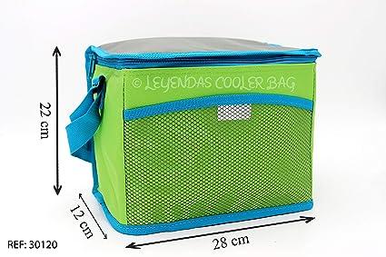 Bolsa Nevera Comida Almuerzo 11 litros,Porta Alimentos de Refrigeración Aislado Resistente al Agua Portátil Mochila de Refrigeración Suave para la ...