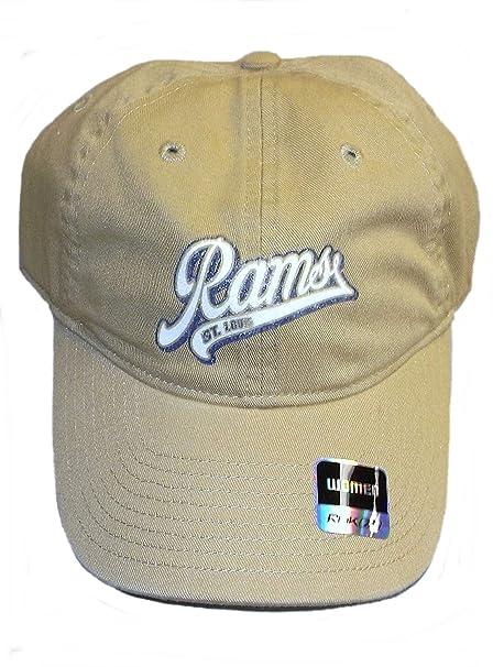 Amazon.com   Reebok St. Louis Rams Womens Slouch Strap Hat By Osfa ... 24244fcc8d
