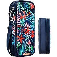 Expandable Pencil Case, FINPAC Large Storage Foldable Pen Pouch Box Organizer Bag for Teen Girls Boys Kids Office School…