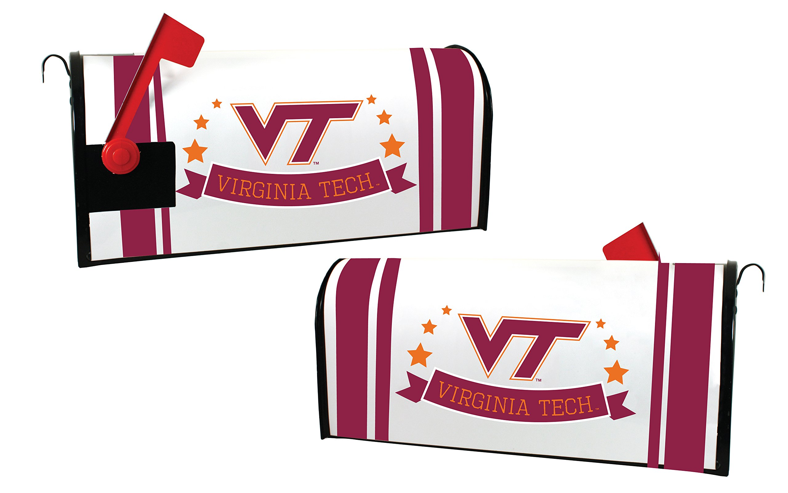 VIRGINIA TECH HOKIES MAILBOX COVER-VIRGINIA TECH MAGNETIC MAIL BOX COVER-NEW FOR 2016!