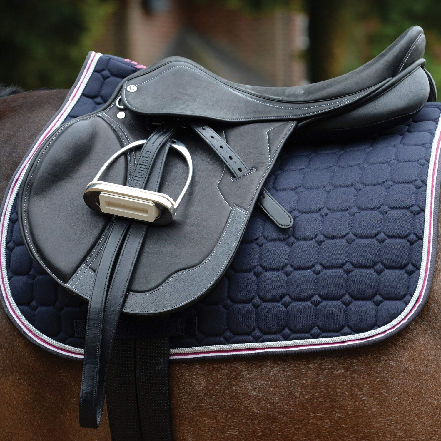 Saxon Coordinate Quilted AP Saddle Pad