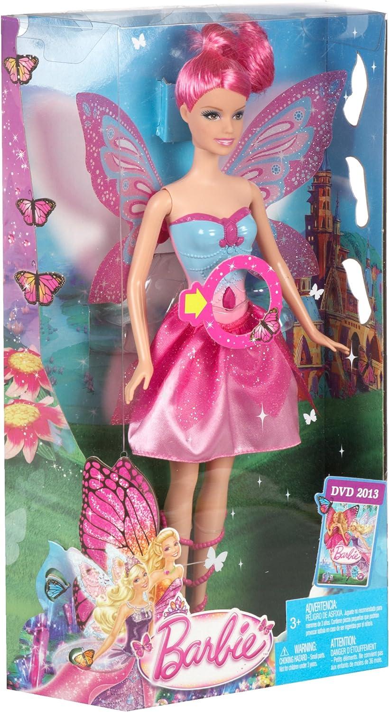 Amazon.es: Barbie Mariposa & The Fairy Princess - Muñeca ...