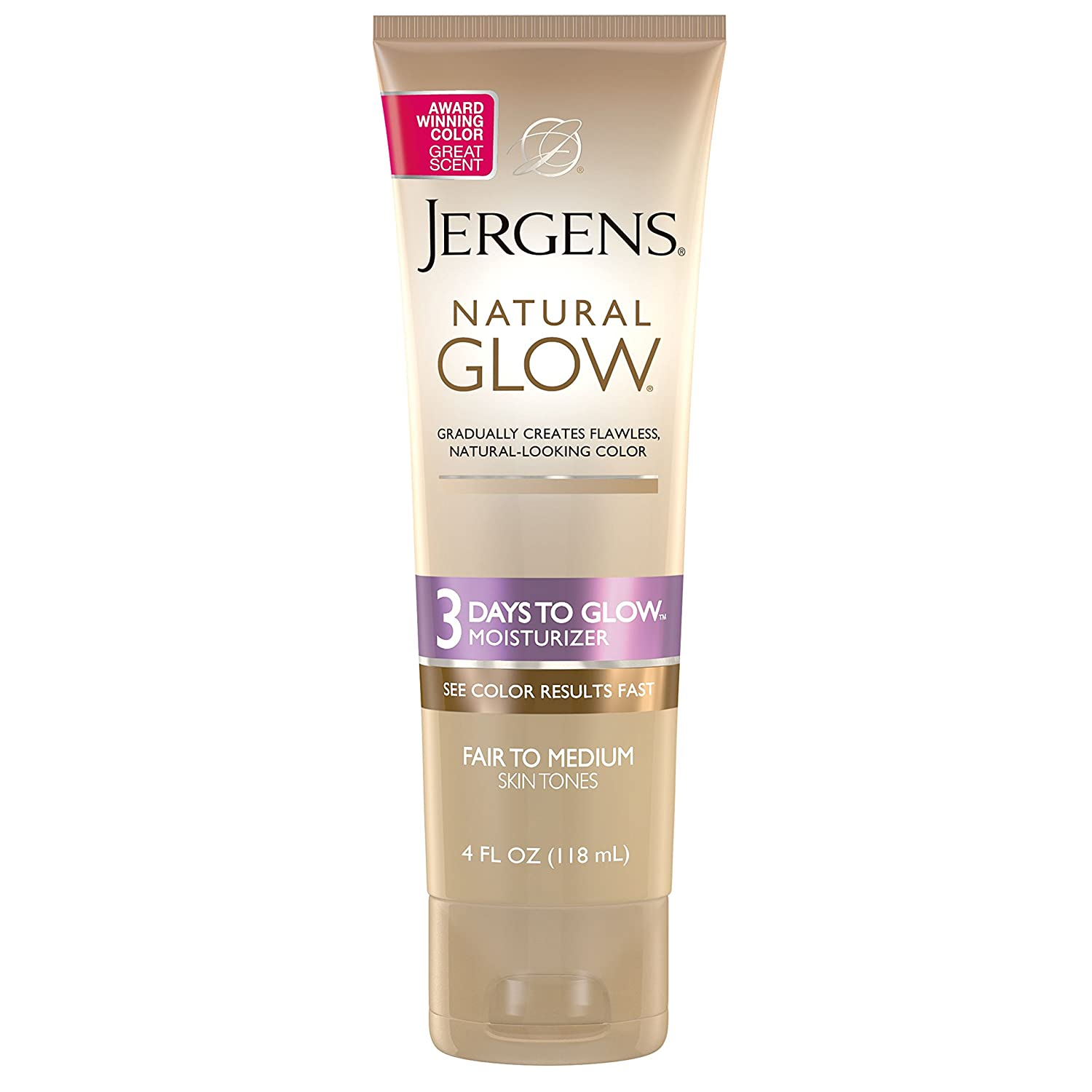 Amazon Jergens Natural Glow 3 Days To Moisturizer For Body Fair Medium Skin Tones 4 Ounces Beauty