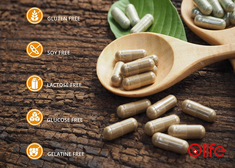 GASTRYZYME, Enzimas Digestivas de Alta Calidad, 90 cápsulas veganas ...