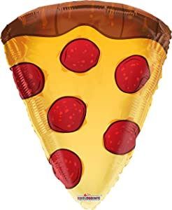 Pizza 18'' Mylar Balloon Happy Birthday Food Pizza Party