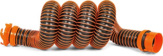 Camco 39863 RhinoEXTREME 10' Sewer Hose Extension Kit with Swivel Fitting