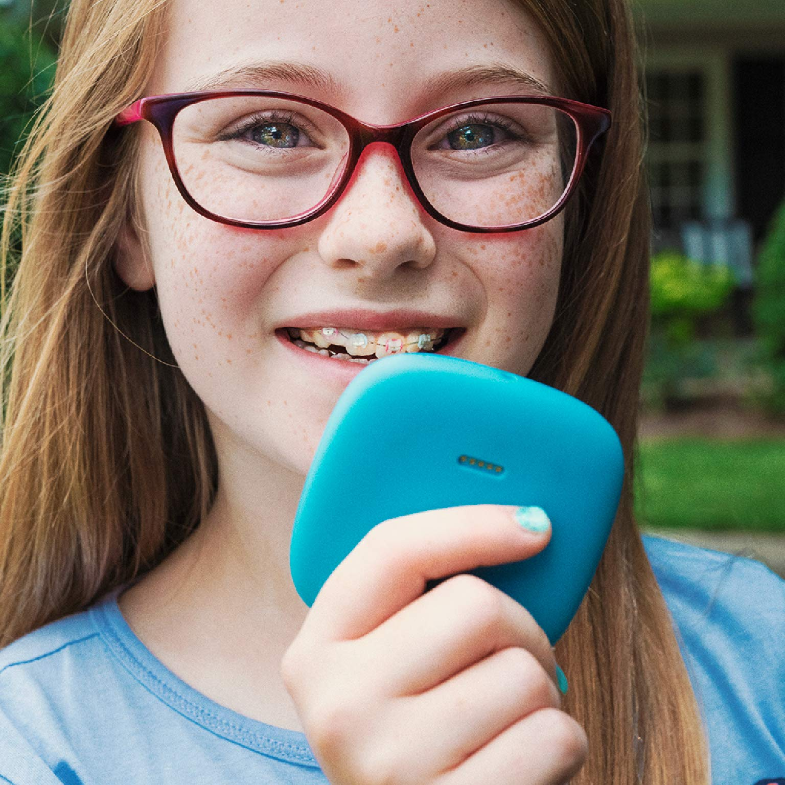 Relay Kids Phone Alternative: A Screen-Free Smarter Phone with 4G LTE Nationwide Range, Walkie Talkie Ease, and a GPS Tracker fo by Relay (Image #9)