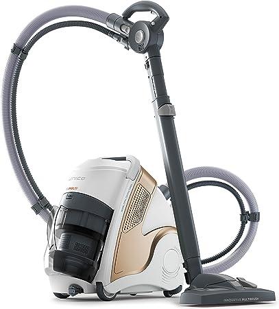 Polti Unico MCV85_Total Clean & Turbo Aspirador multifunción 3 en 1, aspiración y vapor, 6 bares, 2200 W, 0.8 Litros, 72 Decibeles, Plástico, Metal, Crem y blanco: Amazon.es: Hogar