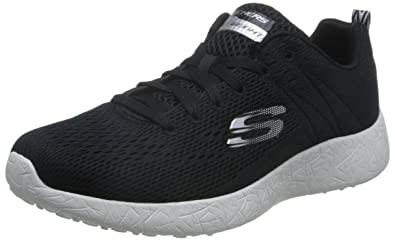 info for ef2c6 a4a94 Skechers Burst-Second Wind, Baskets Basses Homme, Noir (BKW), 43