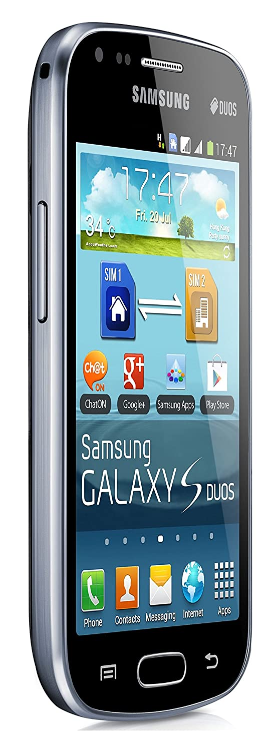 Samsung Galaxy S Duos GT-S7562 GSM Unlocked Touchscreen 5MP Camera  Smartphone Black