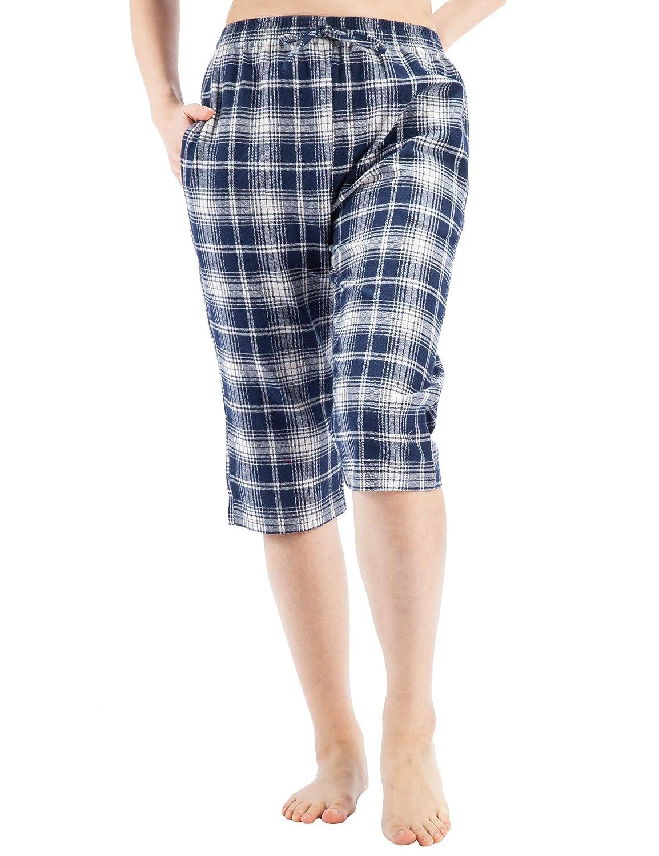 WEWINK CUKOO Pyjamahose Schlafanzughose Baumwolle Denim