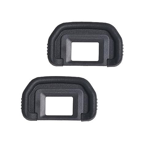 Amazon.com: bestshoot [2 Pack] EF visor ocular, Rubbe para ...