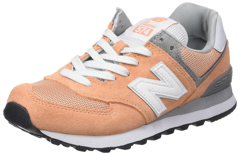 New Balance 574, Zapatillas de Running Para Mujer 36 EU|Rosa (Peach)