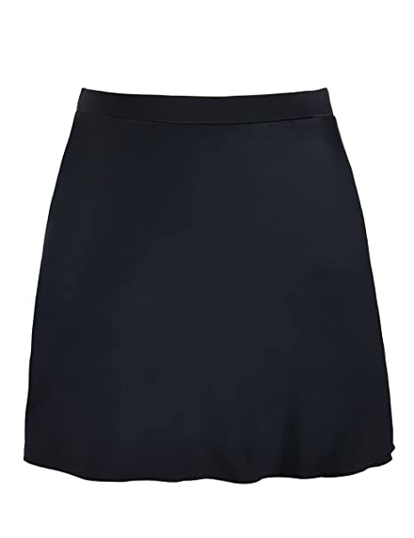 e7b545f8dc0 Firpearl Women s Swimsuit Bottom High Waist Bikini Bottom Swim Skirt US10  Black