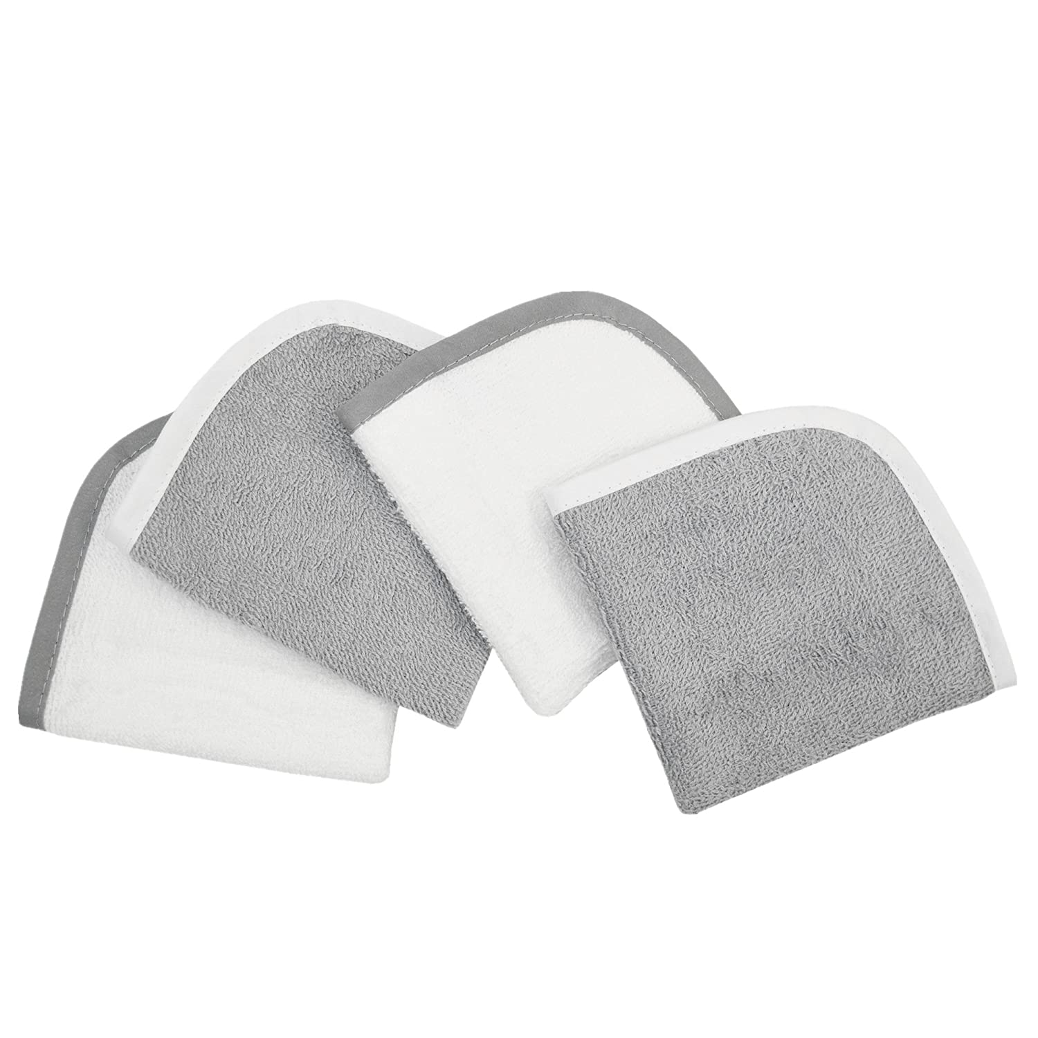 American Baby Company Terry Washcloths made with Organic Cotton, Dark Navy, for Boys 83150-NZ
