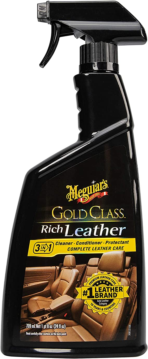Meguiar's Gold Class Rich Leather Cleaner and Conditioning Spray