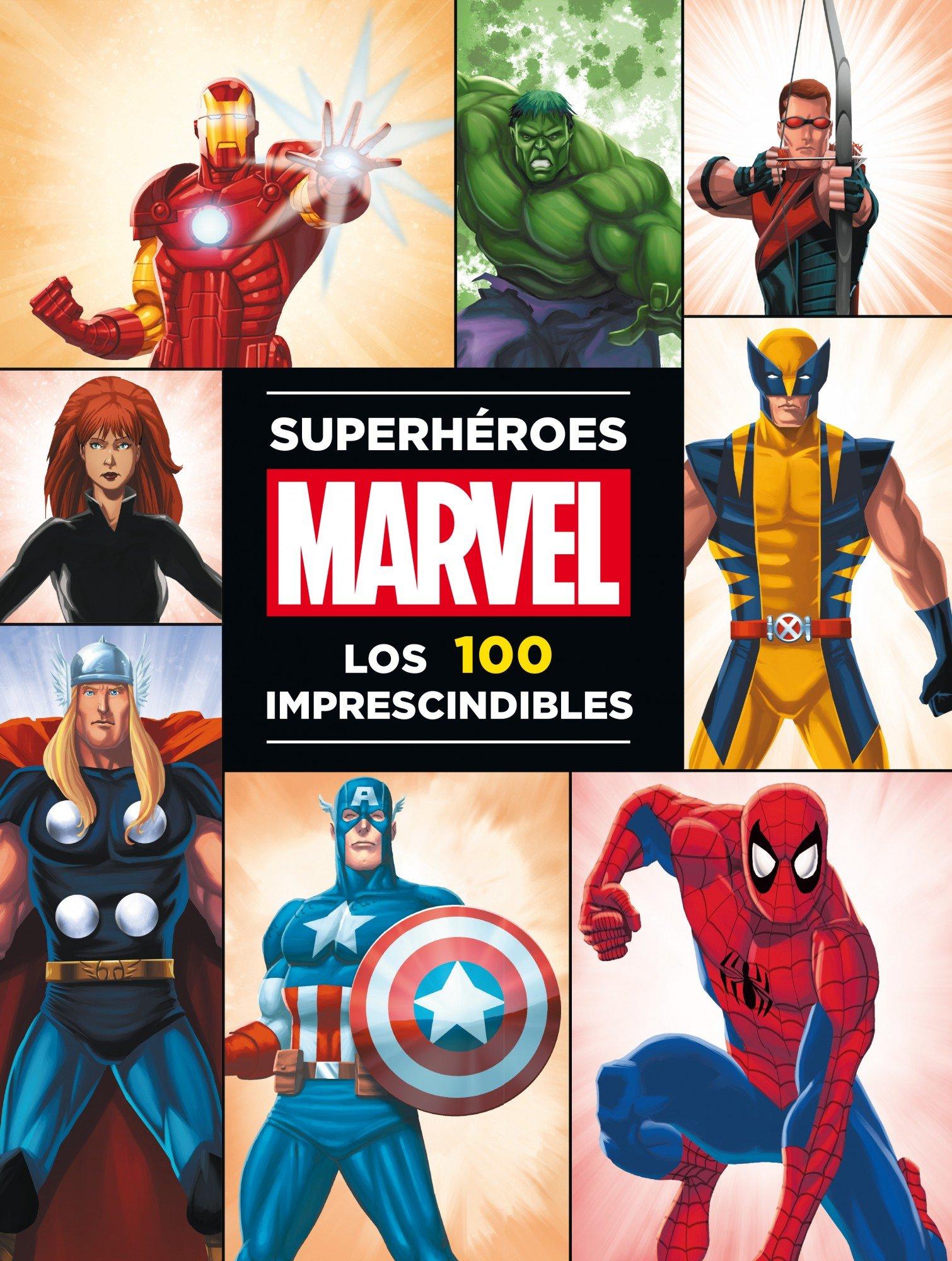 Superhéroes Marvel: los 100 imprescindibles (Marvel. Superhéroes) Tapa dura – 26 sep 2017 Editorial Planeta S. A. Libros Disney 8415343566 Cómics y novelas gráficas