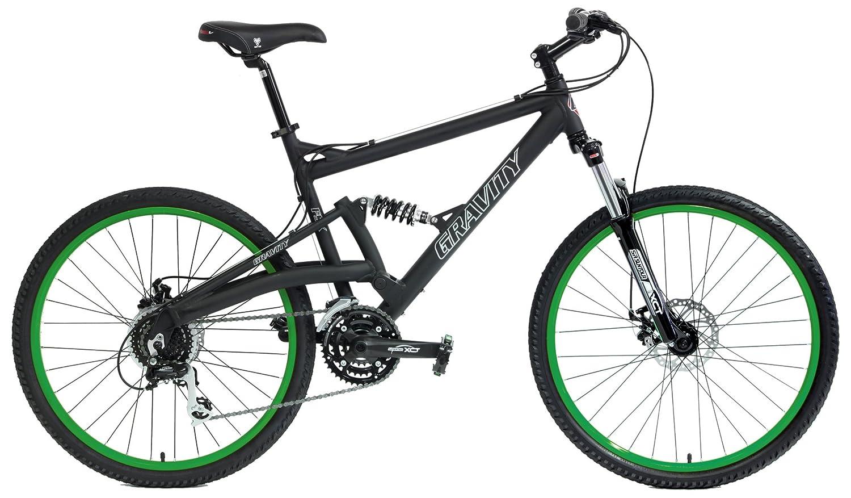 Gravity FSX 2.0 Dual Suspension Mountain Bike